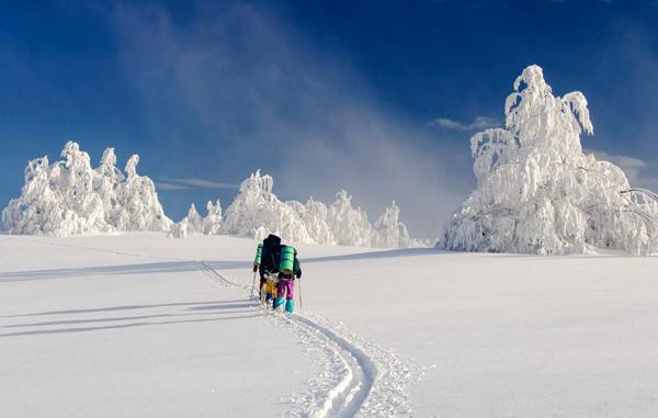 Лыжный поход 2 к.с. на Новый год 2013-2014