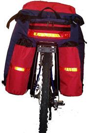 Вело рюкзак на багажник Дакар