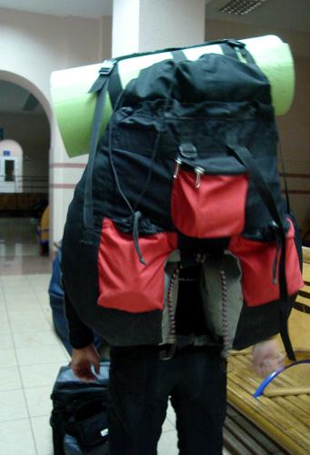 Вело рюкзак на багажник