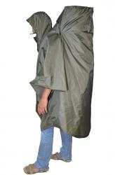 Накидка-пончо для человека с рюкзаком Camel