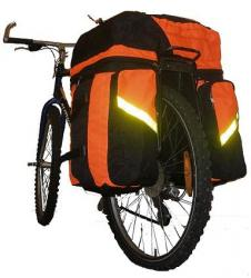 Велорюкзак на багажник Laspi 60