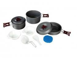 Набор посуды из анодированого алюминия TRC-024