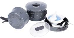 Набор посуды из анодированого алюминия на 2-3 персоны TRC-034