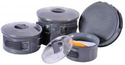 Набор посуды из анодированого алюминия на 4-5 персон TRC-035