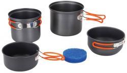 Набор посуды анодированной на 1-2 персоны TRC-075